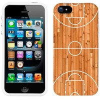Apple iPhone 5s Basketball Court Phone Case Cover