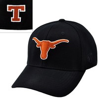 Top of the World Texas Longhorns Premium Collection One-Fit Cap - Adult, Size: One Size (Grey)