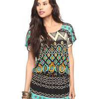 Vibrant Drop Waist Tunic | FOREVER21 - 2000021651