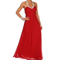 Pre-OrderRose-Red Prom Dress