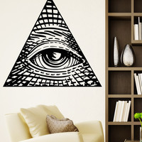 Vinyl Wall Decal Sticker Eye of Providence #5260