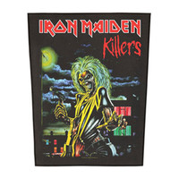 Iron Maiden Men's Killers Back Patch Black