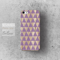 Purple triangle Geometric wood, Samsung Galaxy S4, 3D-sublimated, Mobile accesories, Unique iPhone 4/4S case iPhone 5/5S case.