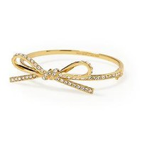 Kate Spade New York Skinny Mini Bow Bracelet | Piperlime