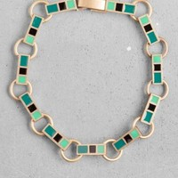 Alyson Fox Chain Bracelet | Blue  | & Other Stories