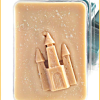 Scented Wax melts- clamshell-SANDCASTLES Design