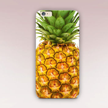 Pineapple Phone Case For - iPhone 6 Case - iPhone 5 Case - iPhone 4 Case - Samsung S4 Case - iPhone 5C -  Matte Case - Tough Case