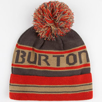Burton Trope Pom Beanie Red One Size For Men 24565830001