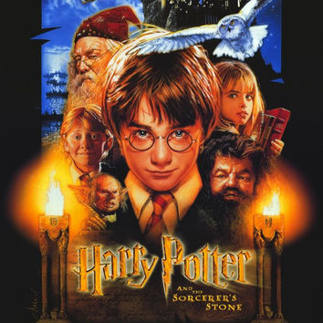 Harry Potter and the Sorcerer's Stone 11x17 Movie Poster (2001)