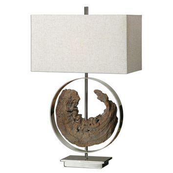 Ambler Driftwood Lamp By Uttermost