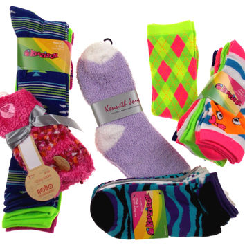 Women's Socks of the Month - (4 Pair)