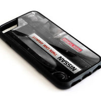 Nissan Skyline GT-R Engine Twin Cam iPhone 7 and 7 Plus Hard Plastic Case