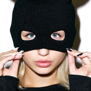 Hollywood Mirror Masked Crusader Knit Mask