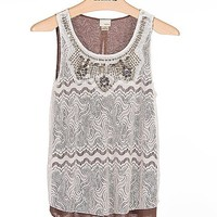 Daytrip Embellished Tank Top - Women's Shirts/Tops | Buckle