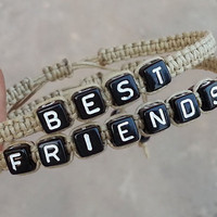 Bracelets Set, Best Friends Bracelets Custom Bracelet, Friendship Gift Bracelets, Graduation Gift, Anniversary Gift