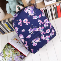 Casual Canvas Korean Backpack = 4887542596