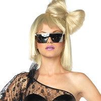 Blonde Oversized Hair Bow - Rock Star Costumes
