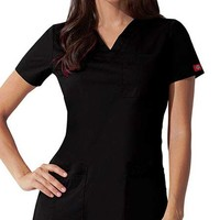 Buy Dickies GenFlex Junior Youtility Basic V-Neck Scrub Top for $21.45