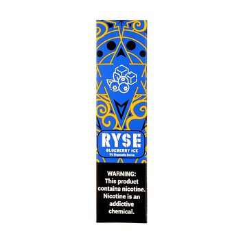 Ryse Disposable Device Blueberry Ice