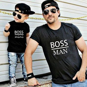 Cool Father & Son Matching Tees