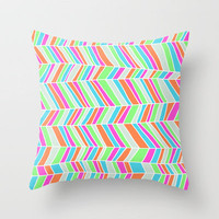 Beach Blanket 2 Throw Pillow by Jacqueline Maldonado | Society6