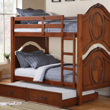 Nob Hill Cherry Bunk Beds