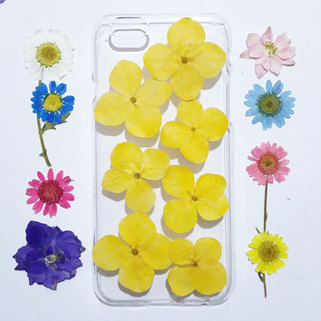 Flower Samsung Galaxy S6 Case, Samsung Galaxy S6 Edge, Clear Galaxy S6 Cases, Galaxy S5 Case flower, yellow flower samsung galaxy case