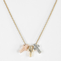 Urban Outfitters - Crosses Charm Necklace