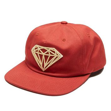 ONETOW Diamond Supply Co. - Brilliant Unconstructed Snapback - Red