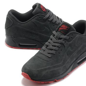 """Nike Air Max 90"" Unisex Sport Casual Anti-fur Air Cushion Sneakers Couple Running Sho"