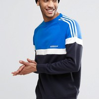 adidas Originals Itasca Crew Sweatshirt AY7714 at asos.com