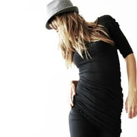 RUCHED SIDE TOP clothing  women  tops  shirt  best selling  trending items  shirts  unique clothing  custom  hand made  treehouse28