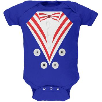 Halloween Uncle Sam Costume Soft Baby One Piece