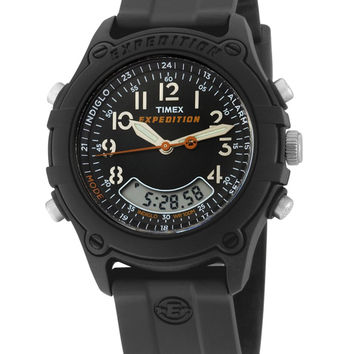 Timex T49742 Men's Expedition Analog-Digital Black Dial Watch