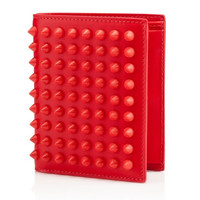 Christian Louboutin Red Spiked Wallet
