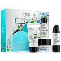 Sephora: Foreo : LUNA™ mini 2 Mint with belif - Merry Minis : facial-cleansing-brushes