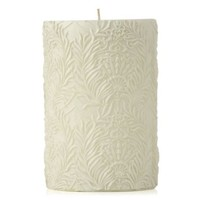 Carved Pillar Candle | Candles & Home Fragrance | Home Accents | Decor | Z Gallerie