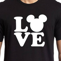Love / Mickey Mouse / T-shirt or Tank Top / Disney shirts / Disney vacation / Magic Kingdom / Disney Princess / My favorite place / Home