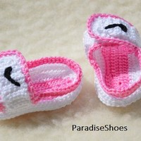 crochet nike,crochet jordan hydro 2 shoes, crochet sandals baby, crochet sandals jorda