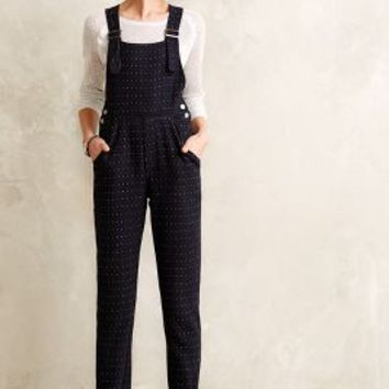Dotted Tweed Overalls by Seen Worn Kept Blue Motif