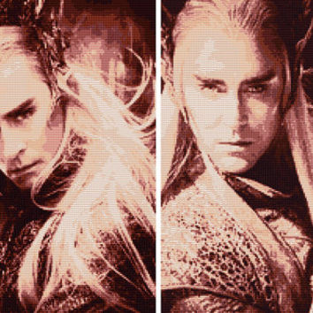Thranduil Cross Stitch Pattern Set No. 1