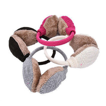 Womens Unpick Winter Warm Plush Earmuff Earwarmer Earlap Headband Ear Muff HUCA