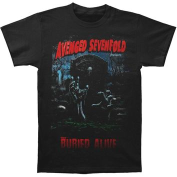 Avenged Sevenfold Men's  Buried Alive Tour 2012 T-shirt Black
