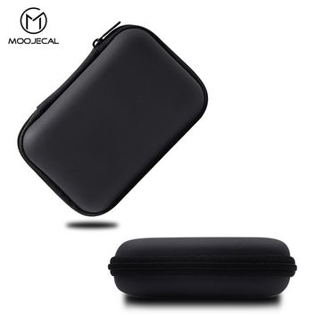 MOOJECAL Earphone Holder Case Storage Carrying Bag Box Case For Earphone Headphone Accessories Earbuds memory Card USB Cable