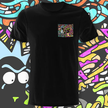Wub a Lub Black Pocket Tee