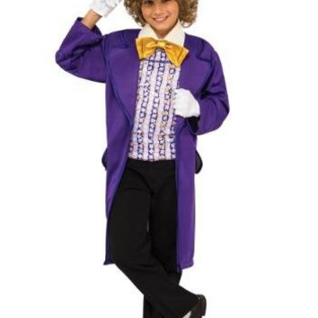 Boys Willy Wonka Costume, Willy Wonka and the Chocolate Factory