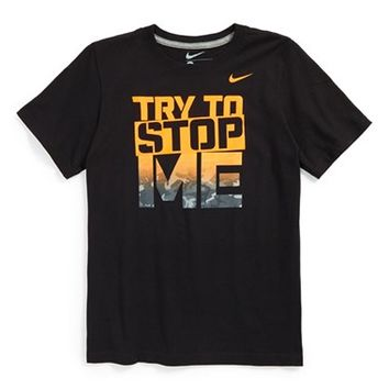 Boy's Nike 'Try to Stop Me' T-Shirt,