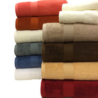 Plush Egyptian Cotton 6-Piece Towel Set