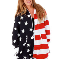 The Betsy Ross Gals USA Onesuit