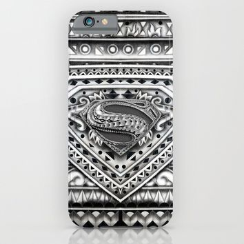 Hope sign Aztec pattern iPhone & iPod Case by Greenlight8
